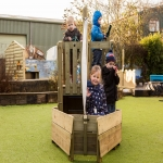 Nursery Playground Apparatus in Abington Vale 8