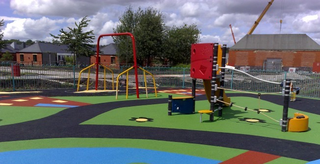 EYFS Active Playground in East Lothian