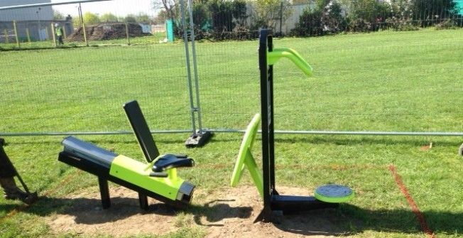 Outside Exercise Equipment in Warwickshire