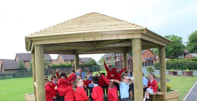 Outdoor Classrooms in Acaster Selby
