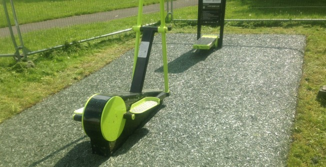 Outdoor Gym Equipment in Warwickshire