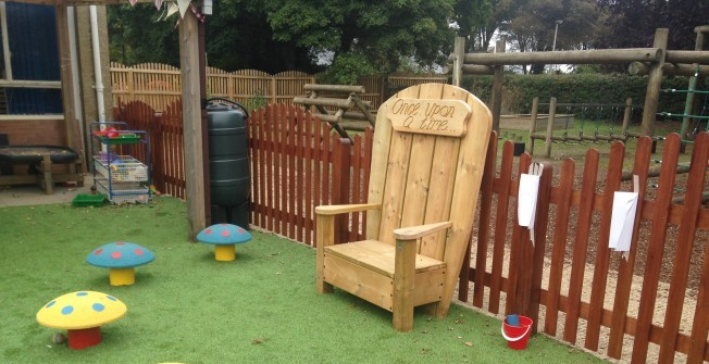 Playground Seating School in Aberfan